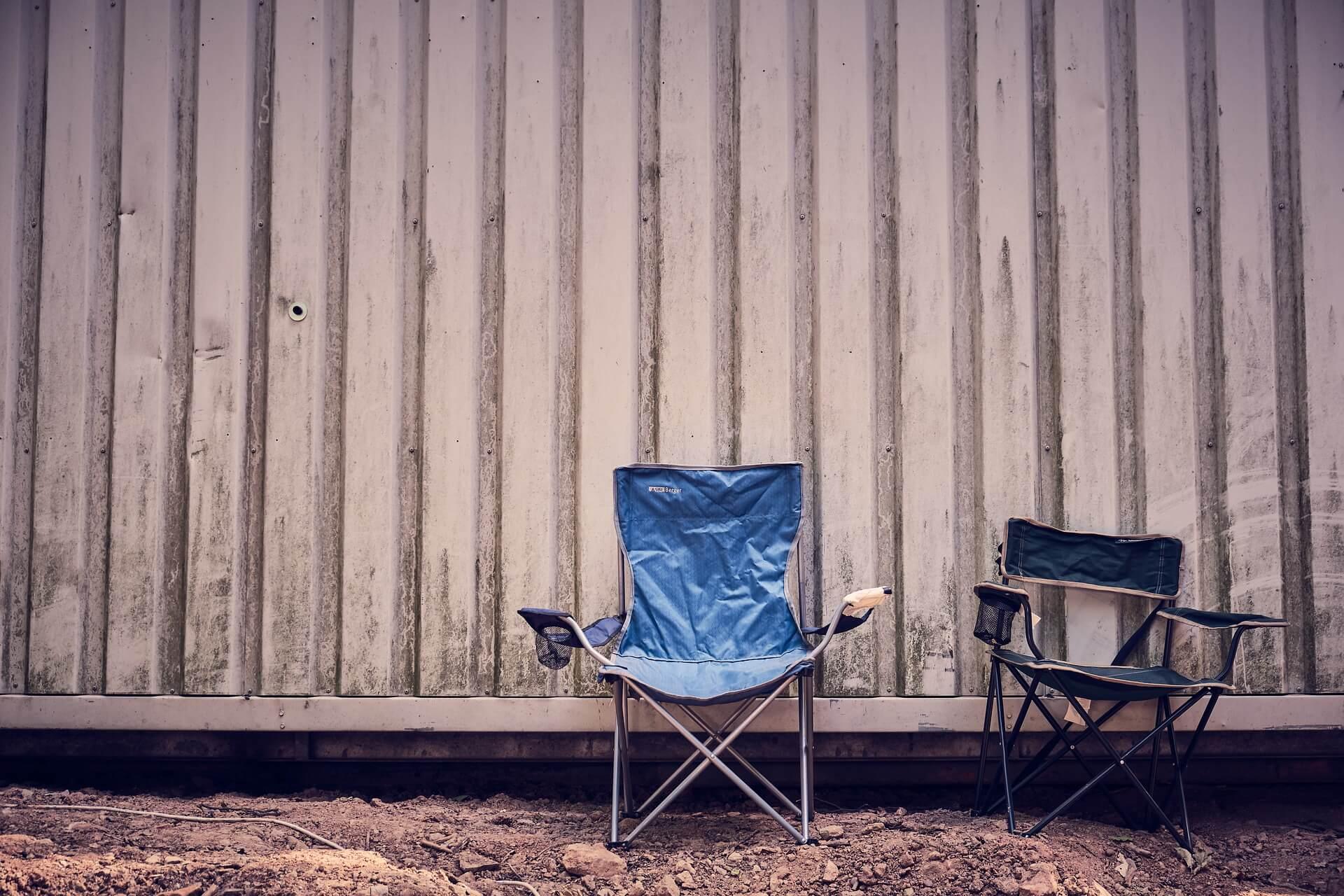 コンパクト椅子の写真