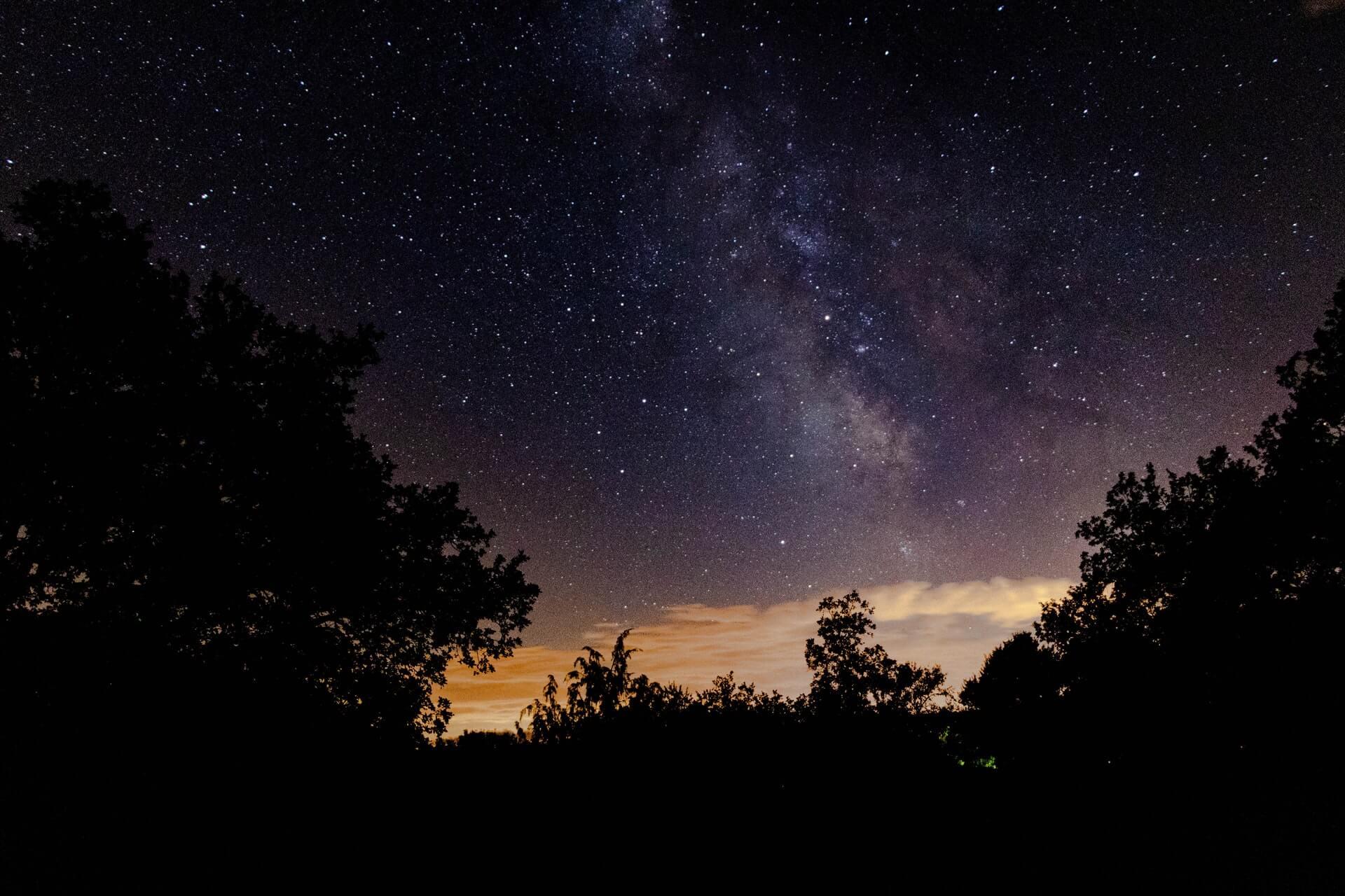 星空の写真
